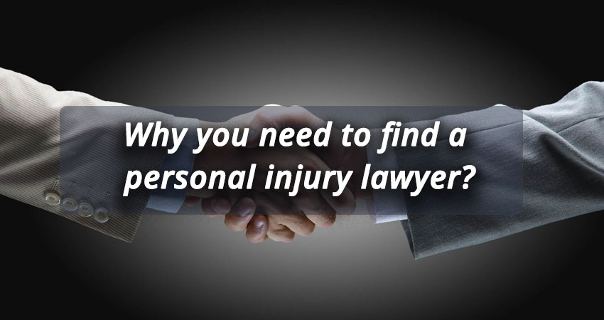 Why you need to find a personal injury lawyer? - Injury