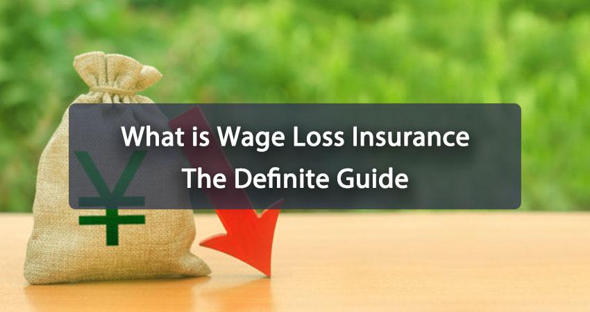 Wage Loss Insurance